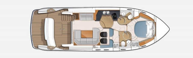 Princess_yacht_42_layout