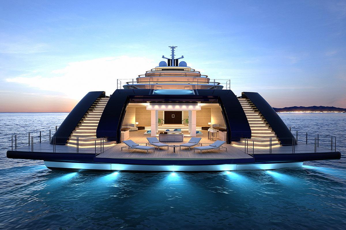 самые большие яхты в мире фото кресле фотография