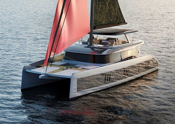 Sunreef 80 Sailing Eco catamaran