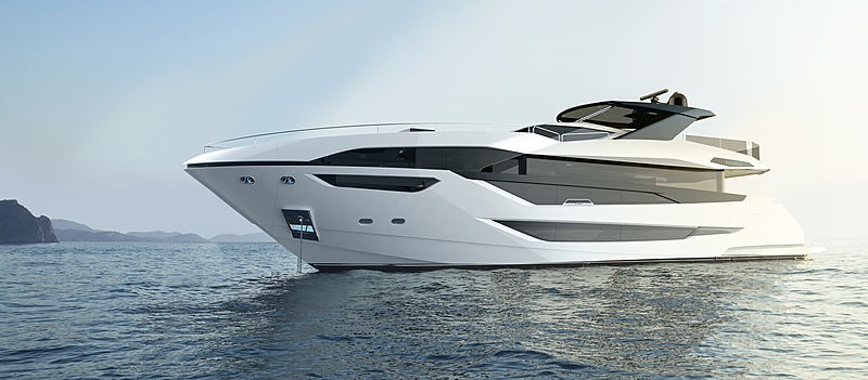 New_Sunseeker_100_on_water_profile