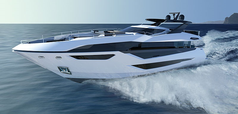 New_Sunseeker_100_on_water