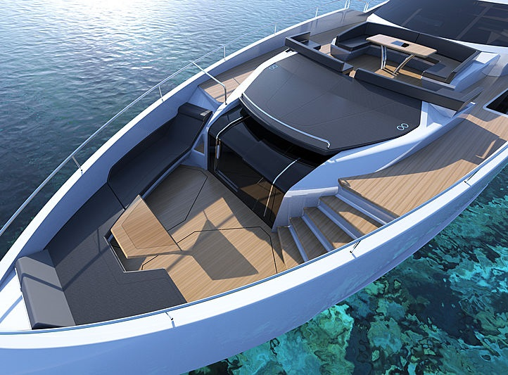 open-plan bow_sunseeker100yacht
