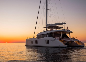 Sunreef 70 Sailing